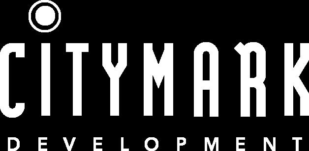 CityMark Development logo white